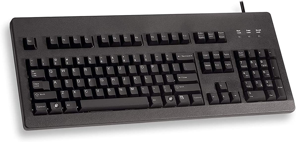 Standard Corded Keyboard with Cherry MX Blue Switches [並行輸入品]