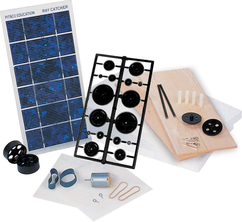 Pitsco Ray Catcher Sprint Deluxe Solar Car Kit (Individual Pack) (Renewed)