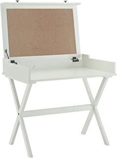 product image for Carolina Chair and Table Kennedy Flip Top Cork Board Desk