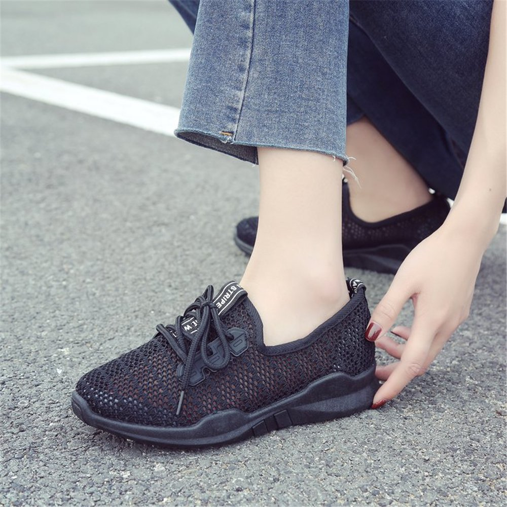 SUNNY Store Women Sneakers Comfort Slip On Wedges Shoes Breathable Mesh Walking Shoes for Women