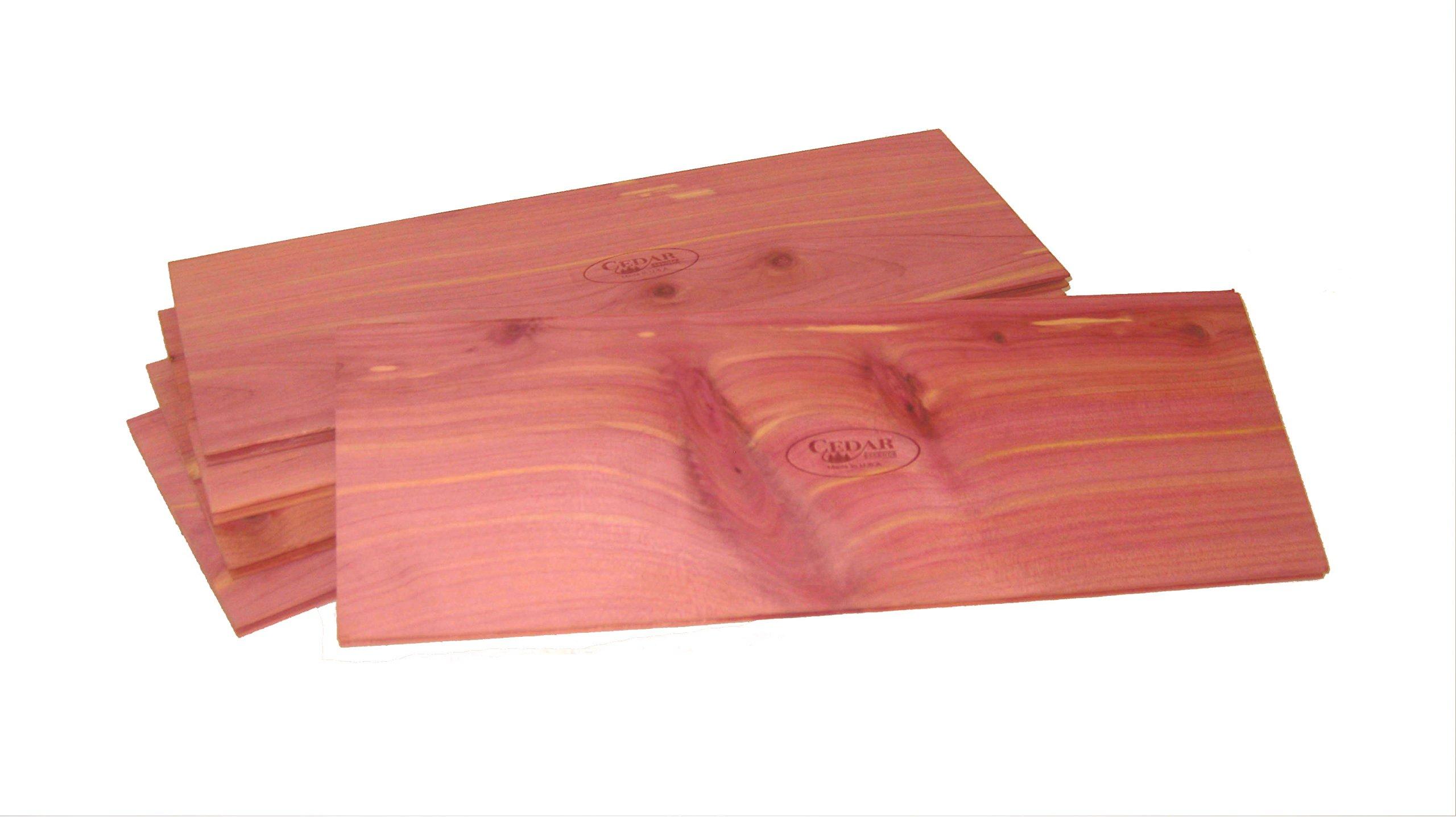 Cedar Essence Tongue and Groove Cedar Drawer Liner Each Plank is 12''L x 4.25''W x 1/4'' Thick. MADE IN THE U.S.A. SET OF 5.