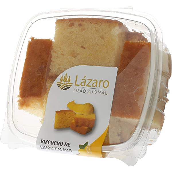 Lázaro Bizcocho Limón Calado 350 g: Amazon.es: Alimentación y bebidas