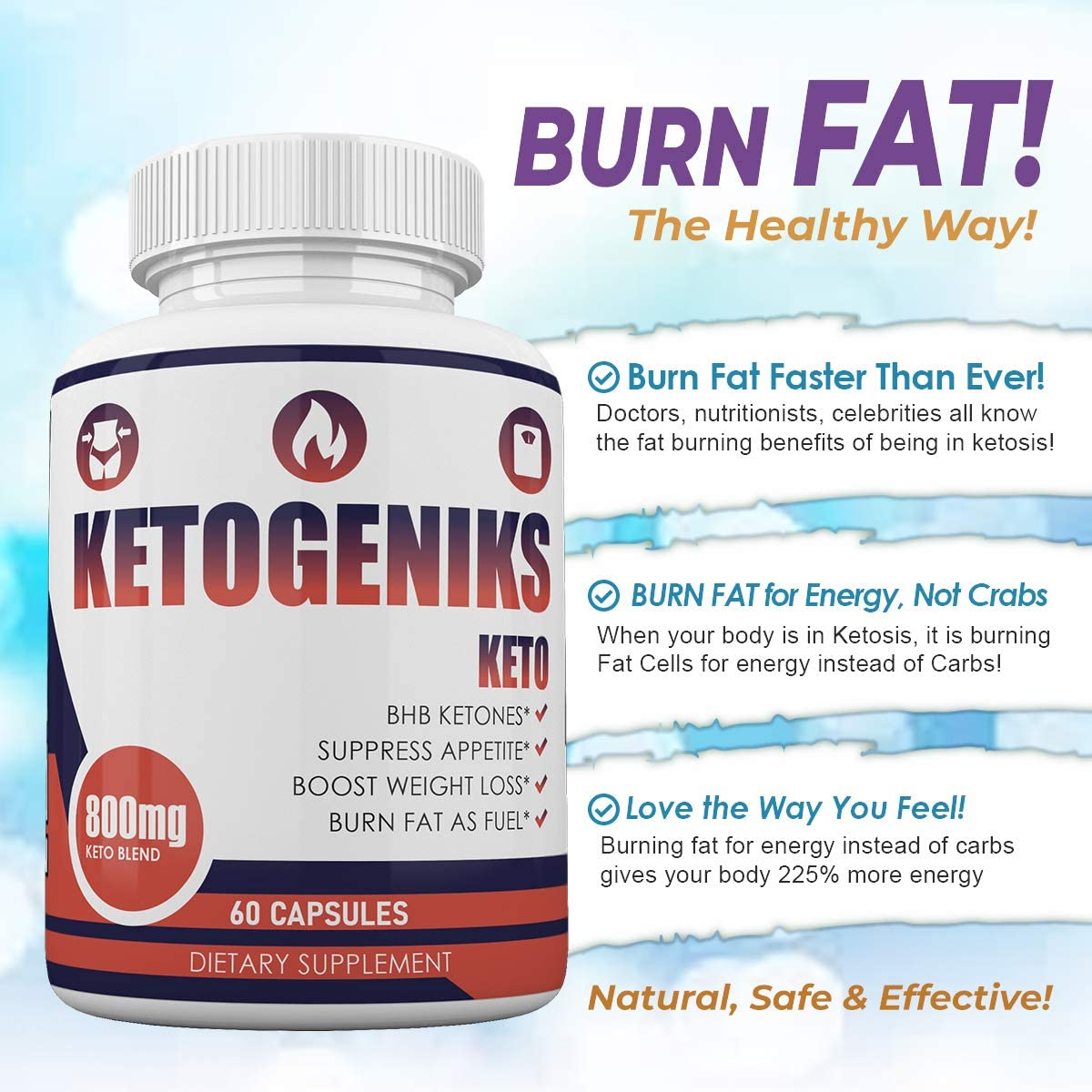 Ketogeniks Advanced Weight Loss Ingredients