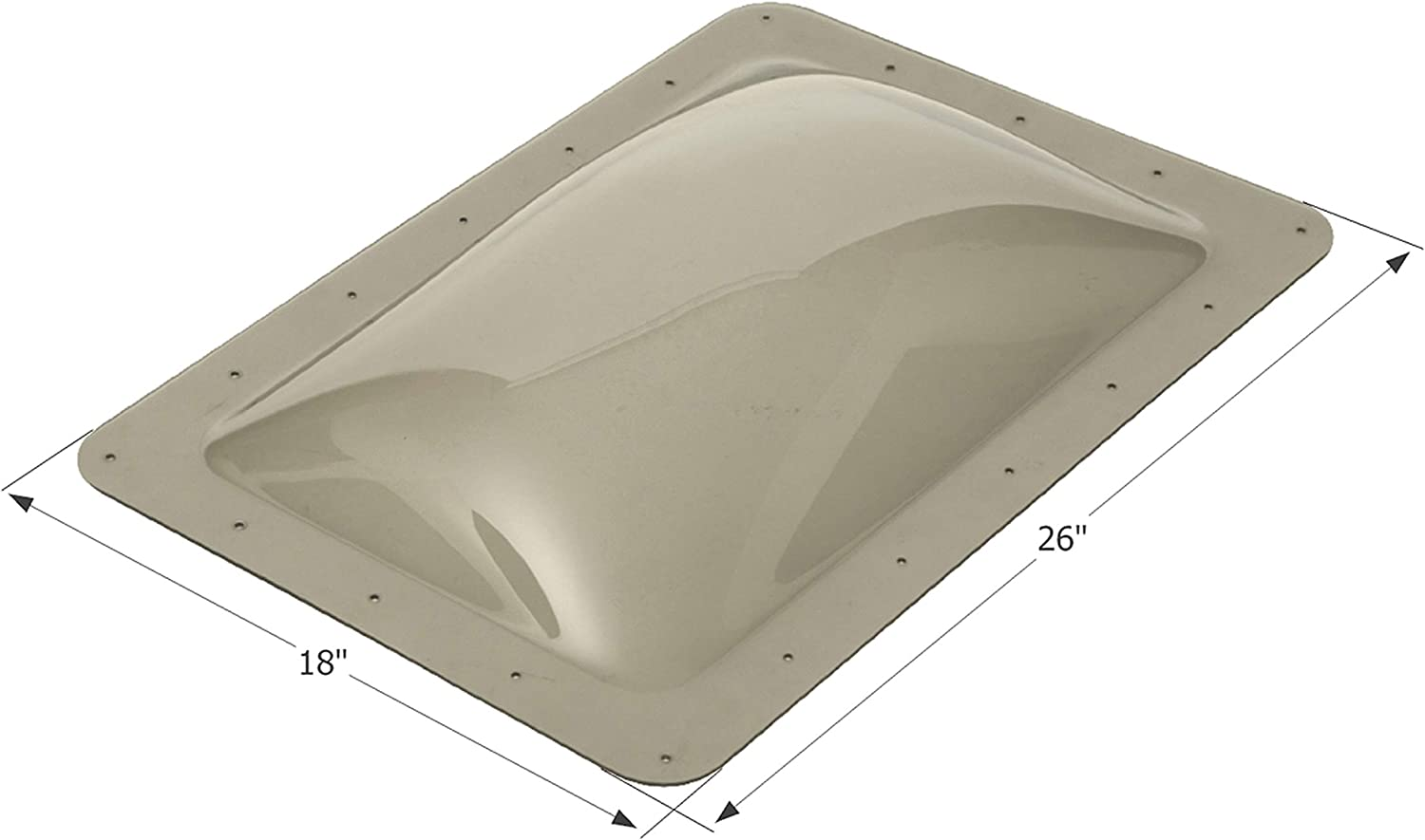 ICON 12080 Skylight Sl1422S - Smoke