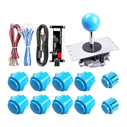 Amazon com: Easyget Zero Delay Arcade Game DIY Parts Kit for