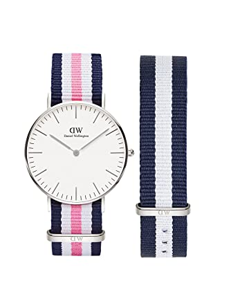 c76fe3c247f6 Buy Daniel Wellington Classic Southampton 36mm Watch and Glasgow Strap -  Watch and Strap Combo Online at Low Prices in India - Amazon.in
