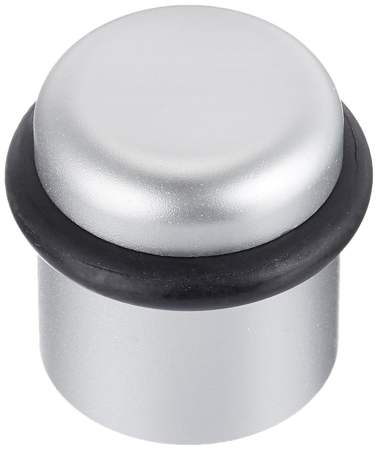 SOLIDO Boden-Türpuffer ø 25 mm | Türstopper | Aluminium silber | 1 Stück V102A283S652