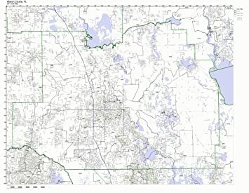 Marion County Florida Map