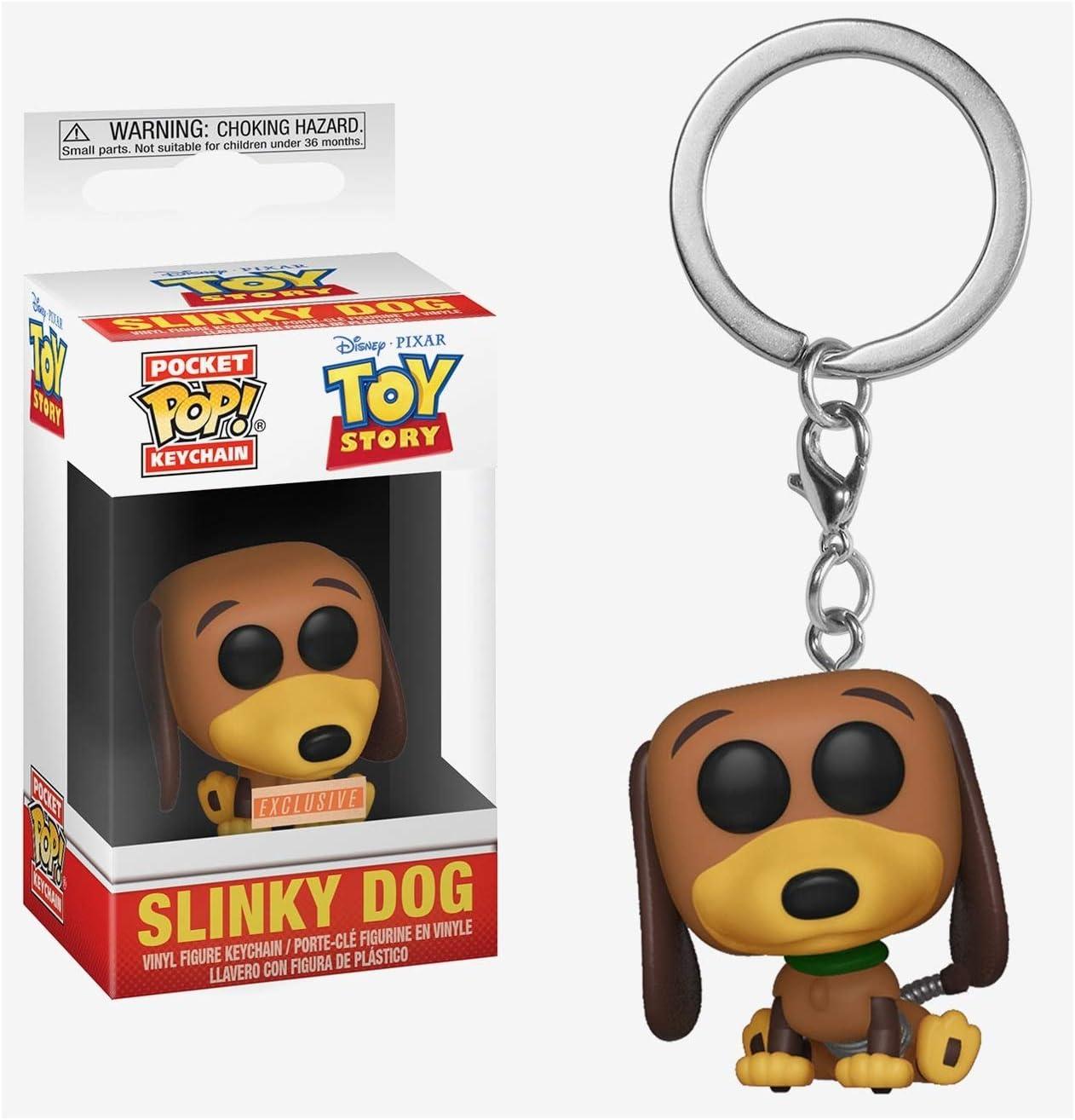 Keychain Toy Story Funko 37041 Pop Slinky Exclusivo