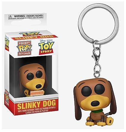 Funko Pocket Pop! Disney Pixar Toy Story Slinky Dog Vinyl Keyring Keychain Exclusive