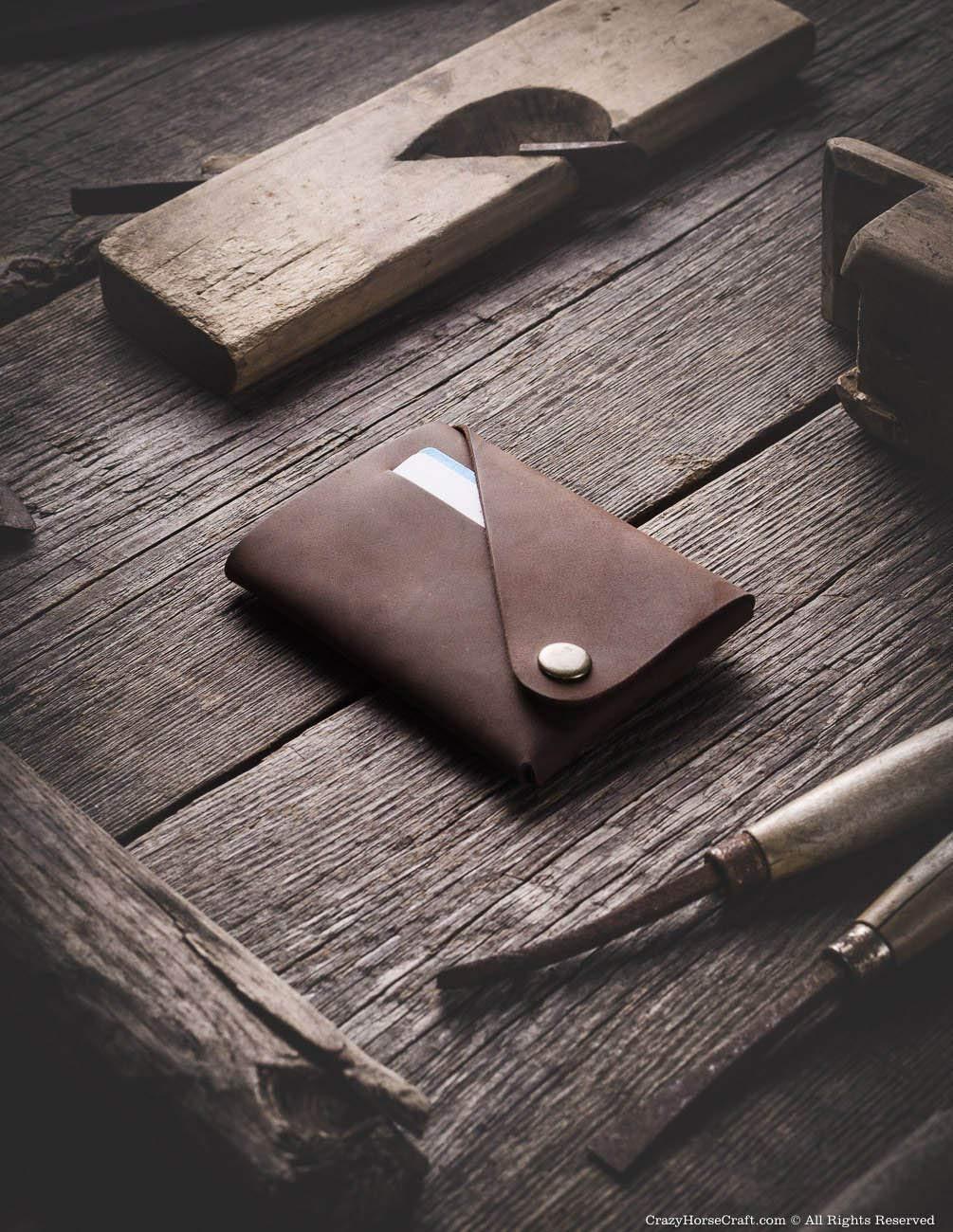 ec7626c2c2dcb Amazon.com  Minimalist leather wallet card holder