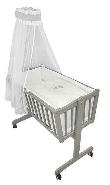 Bettwäsche Sets Tlg Niuxen 426 522 Wiegen Set Baby 6
