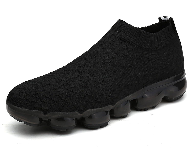 ONEAIR Zapatillas de Running Para Hombre Air Zapatos Para Correr y Asfalto Aire Libre y Deportes Calzado 41 EU: Fit longitud de pie 25.5cm D801 Negro
