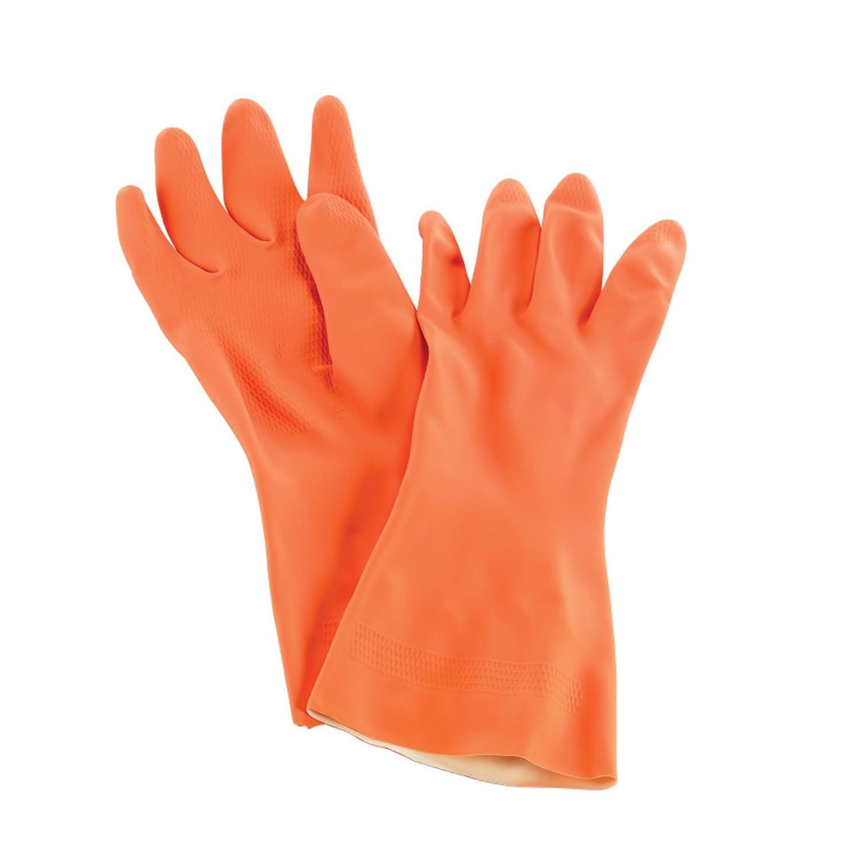 San Jamar 720-s 13インチHeavy DutyネオプレンとラテックスDishwashing手袋 – スモール、ダース   B078T7NQW9