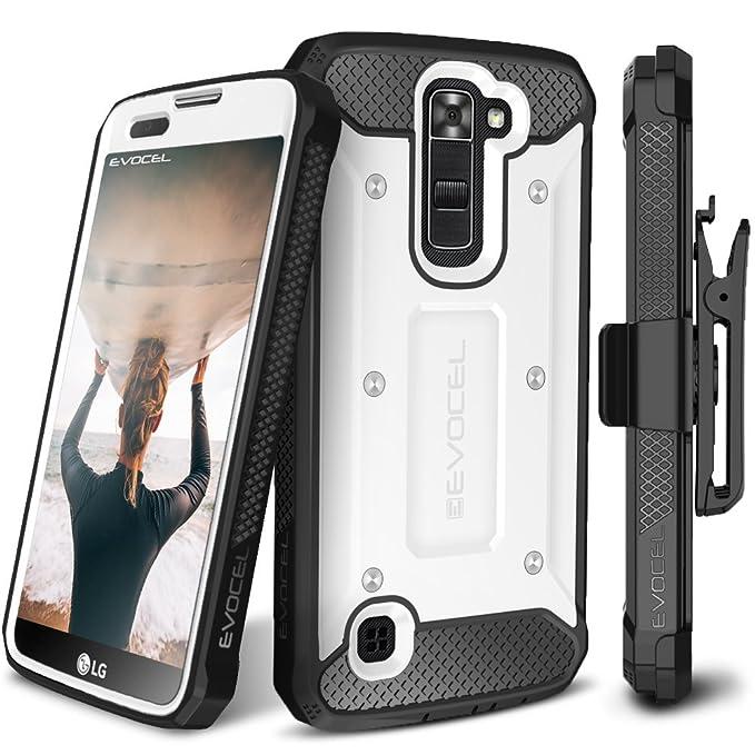 Evocel - Funda con Tapa para LG K7 y LG Tribute 5 y LG Treasure LTE (LS675) y LG Treasure LTE (L52VL): Amazon.es: Electrónica