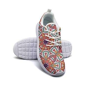 Amazon.com  Hollow Flower Mandala Print women s sports Running Shoes Casual  Lightweight Athletic Sneakers  Clothing 9fa11b923c