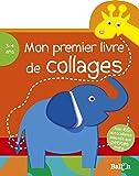 Mon premier livre de collages éléphant 3-4 ans