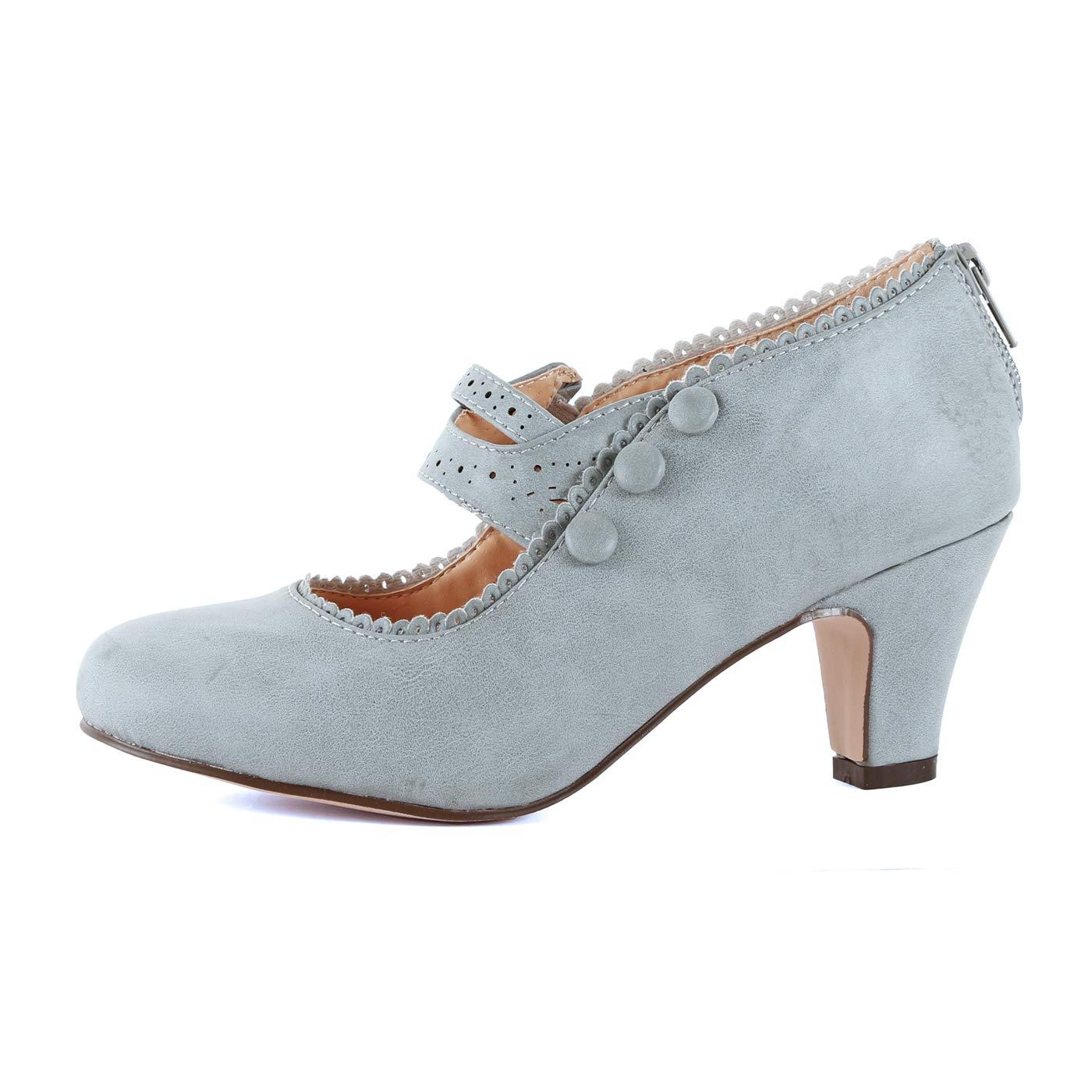 【お気にいる】 [Guilty Shoes] レディース B078H1LW7J Pu 8 B(M) US Greyv2 Pu 8 Greyv2 B078H1LW7J Pu 8 B(M) US, コウヤチョウ:0bd3f03a --- obara-daijiro.com