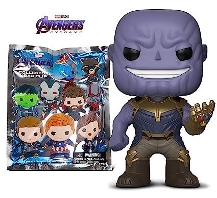 Amazon.com: Warp Gadgets Avengers Bundle Funko POP Thanos y ...