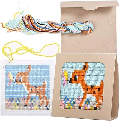 Sozo - Kit de costura para principiantes, colorido diseño de ...