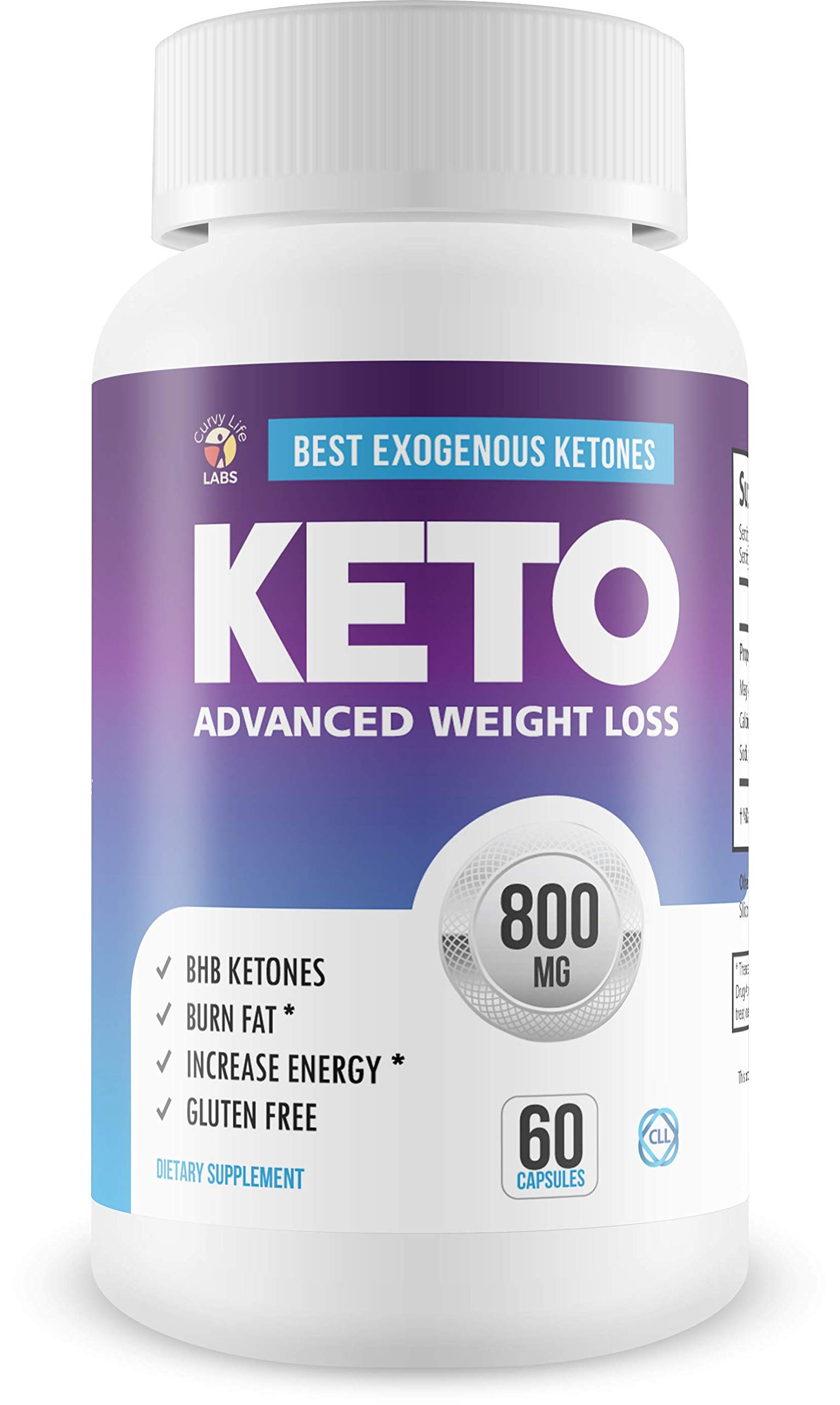 Best - Exogenous Ketones - Keto Salts - Advanced Weight Loss - Help to Induce Quicker ketosis - Sodium Beta Hydroxybutrate - Burn Fat in ketosis