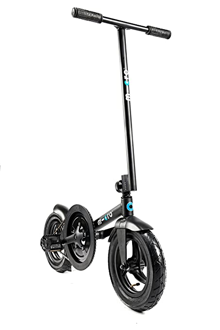 Amazon.com: Micro pedalflow bicicleta plegable, color negro ...