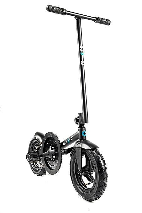 Amazon.com: Micro pedalflow bicicleta plegable, color negro ...