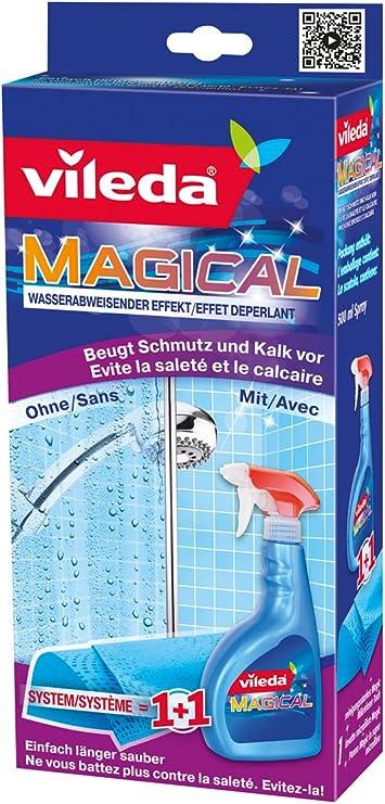 Vileda - Sistema Magical repelente de agua (líquido + bayeta) 500 ...