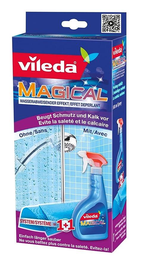 Vileda - Sistema Magical repelente de agua (líquido + bayeta) 500 ml