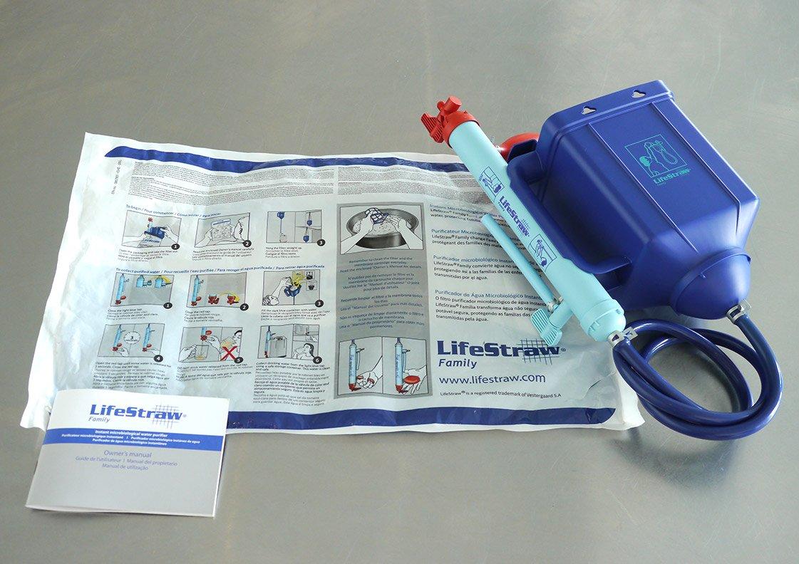 lifestraw family 1.0 water purifier - Long Product Lifespan