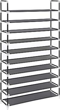 2//4//6//8//10 Tier Unit Shoe Rack Storage Shelf Cabinet Organiser Footwear Pairs