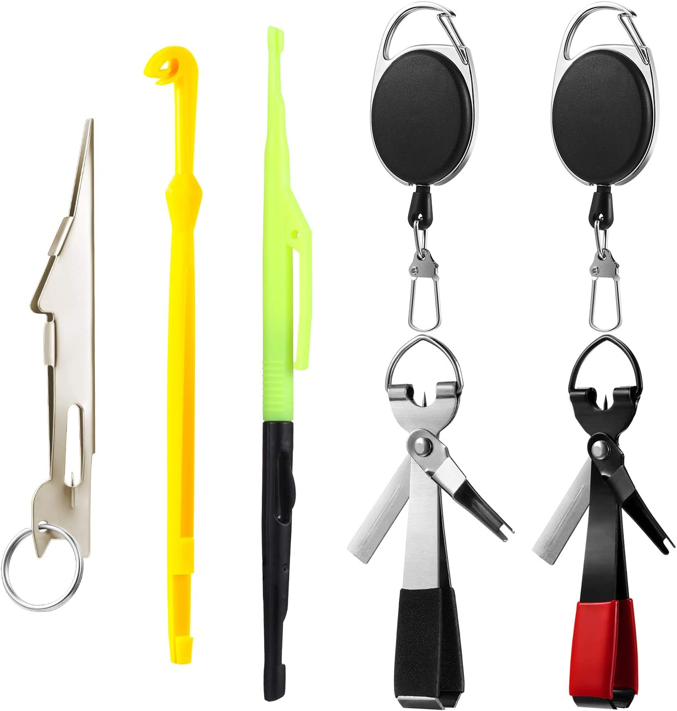 Hook Loop Tyer Disgorger Fast Knot Tying Tool Fishing Hook Remover Detacher