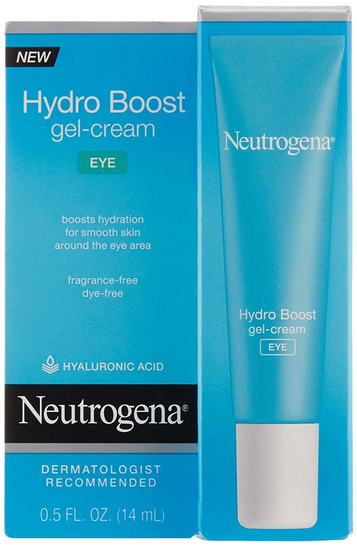 Neutrogena Hydro Boost Eye Gel-Cream, 0.5 oz (Pack of 2)