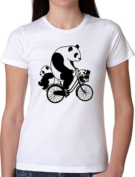 JODE T Shirt Girl GGG22 Z1648 Pandas Bicycle Cartoon Animal ...
