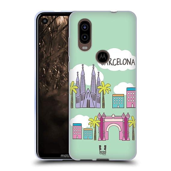 Amazon.com: Head Case Designs Barcelona Doodle Cities 4 Soft ...