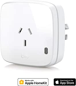 Eve Energy (AU) - Smart Plug & Power Meter with Built-in schedules, Switch a Connected lamp or Device on & Off, Voice Control, no Bridge Necessary, Bluetooth Low Energy (Apple HomeKit)