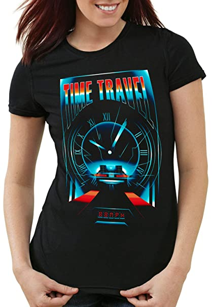 Donna Da Style3 Travel T 12 Mcfly Time Doc Shirt Delorean Brown Dmc iOZPkXuT