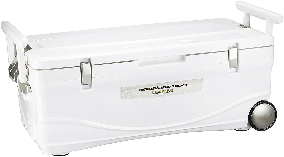カレッジ結果こどもの日シマノ(SHIMANO) クーラーボックス 大型 60L スペーザ ホエール ベイシス キャスター付 600UC-060I 釣り用 ピュアホワイト