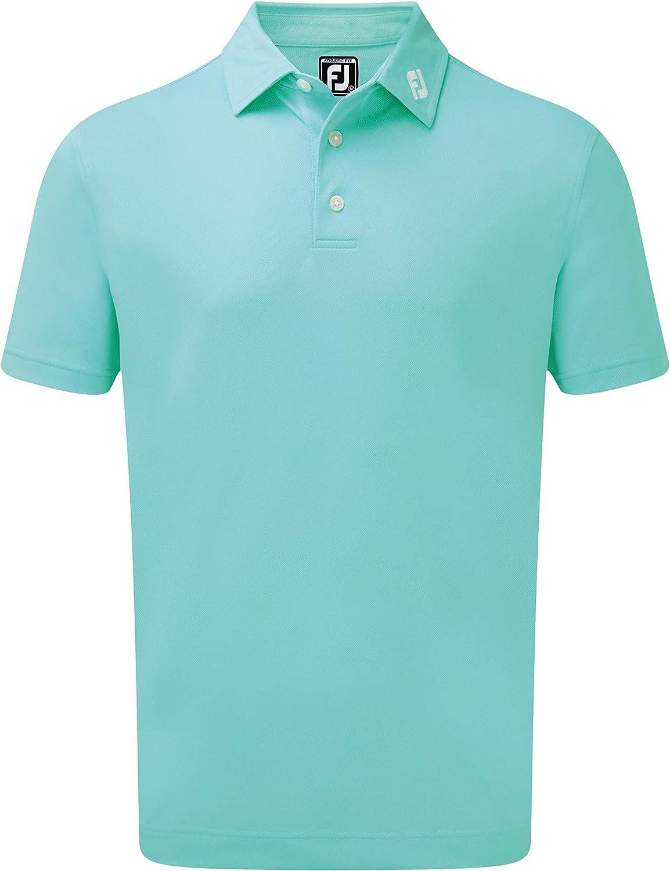 Footjoy Stetch Pique Solid Shirts Polo para Hombre: Amazon.es ...