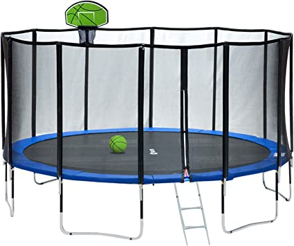 Exacme 15-Foot Round Trampoline - Carbon Fiber Protection