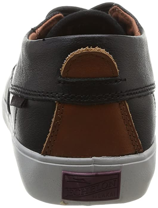 Camby Mid Dqm, Chaussures de skateboard homme - Noir (Black/Brown Leather), 41 EU (8 US)Lakai