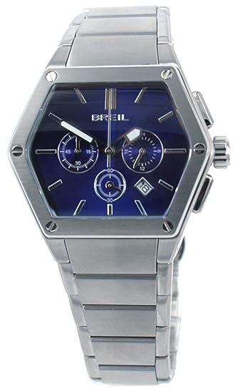 Breil TW0658 - Reloj analógico de Cuarzo para Hombre con Correa de Acero Inoxidable, Color Plateado: Amazon.es: Relojes