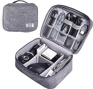 Intbase Reisekabel-Etui, universal, Kabel-Organizer, einfach zu transportieren, Zubehörtasche, Elektronik-Organizer für Ladegeräte, Kabel, Powerbank, Festplatte