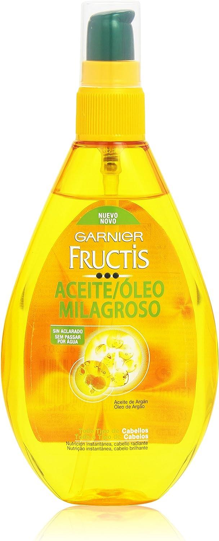 Garnier Fructis - Nutri Repair, Aceite Capilar Milagroso, para Todo tipo de Cabello - 150 ml