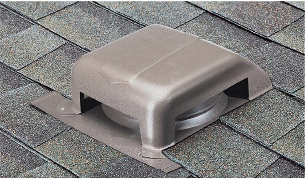 Gray AIR VENT RVG400G0 WD Galvanized Roof Vent