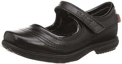 d8b3990af53e6 Babies Kickers Keavy Bar pour fille en noir  Amazon.fr  Chaussures ...