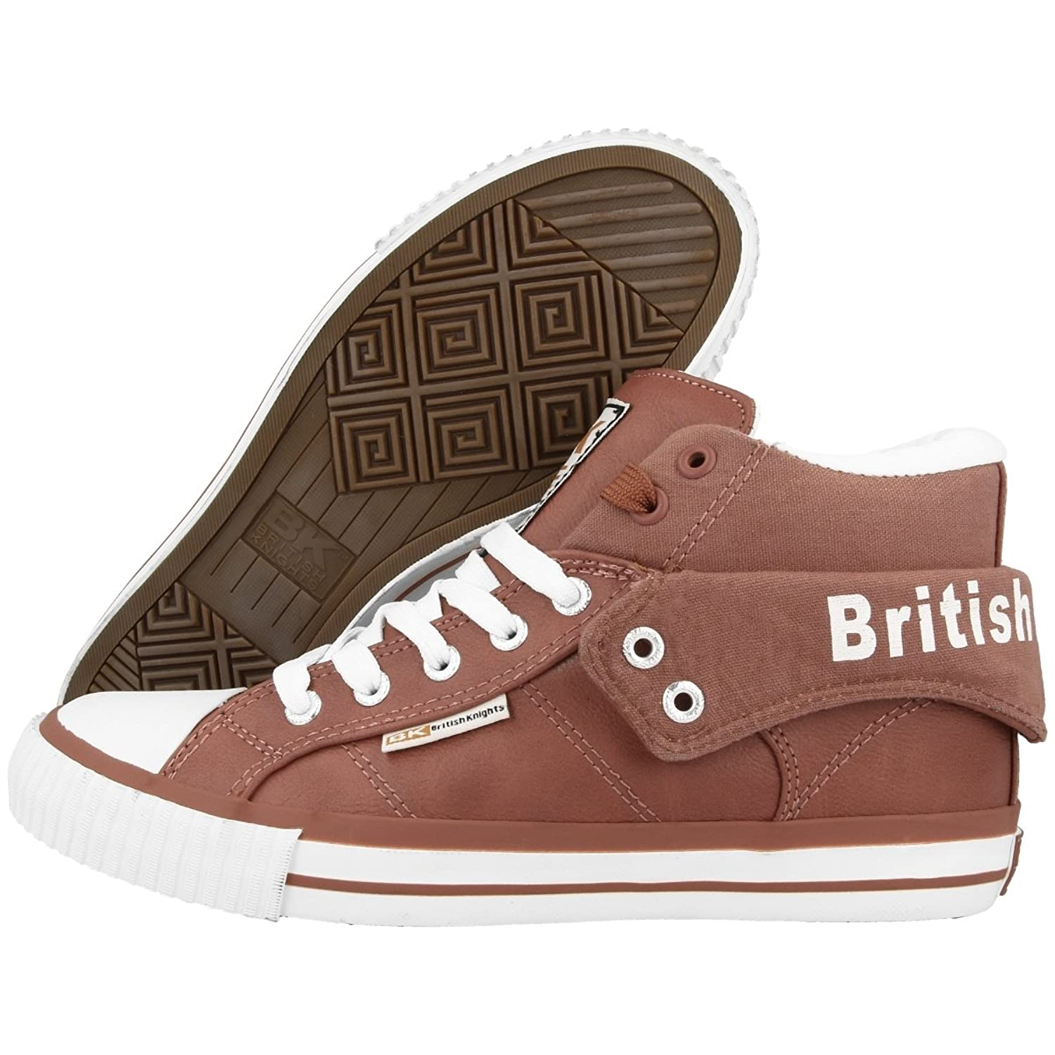 British Knights Roco Bk Schuhe High Top Sneaker Rust B34-3736-20 Mid Boots 7fBV1SyhS