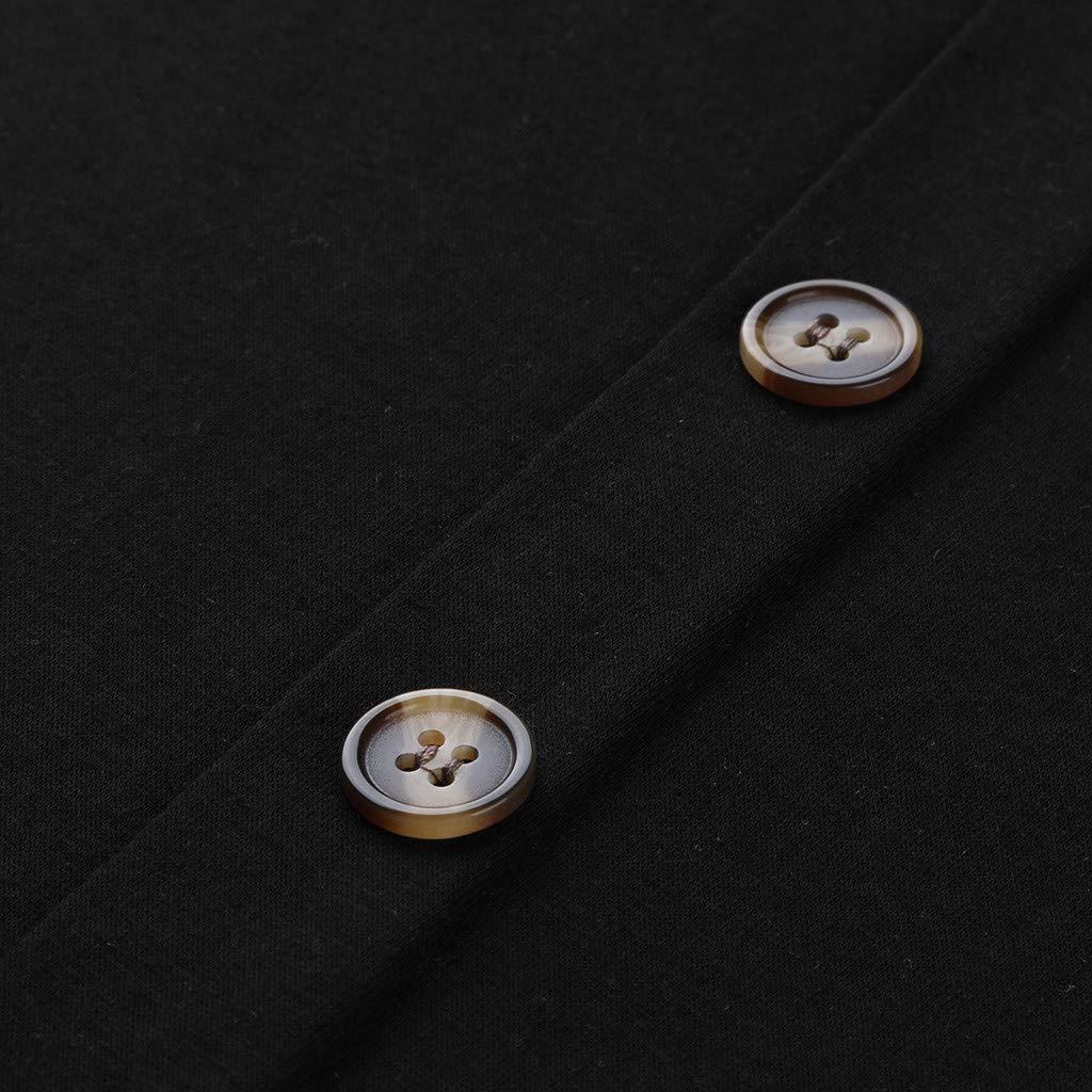 Top Gravidanza In Allattamento Felpa Di Maternit/à Donna Elegante Camicia Da Infermeria Maglietta t-Shirt Casual Blusa Top In Camicetta a Maniche Lunghe Per Premaman