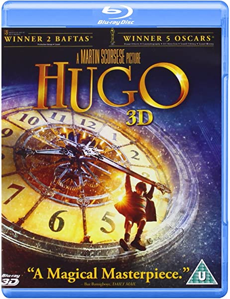 Hugo (Blu-ray 3D + Blu-ray) [Reino Unido] [Blu-ray]: Amazon.es: Chlo Moretz, Asa Butterfield, Ben Kingsley, Jude Law, Ray Winstone, Martin Scorsese, Chlo Moretz, Asa Butterfield: Cine y Series TV