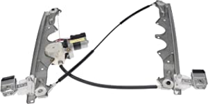 Dorman 748-611 Front Driver Side Power Window Regulator and Motor Assembly for Select Jeep Models
